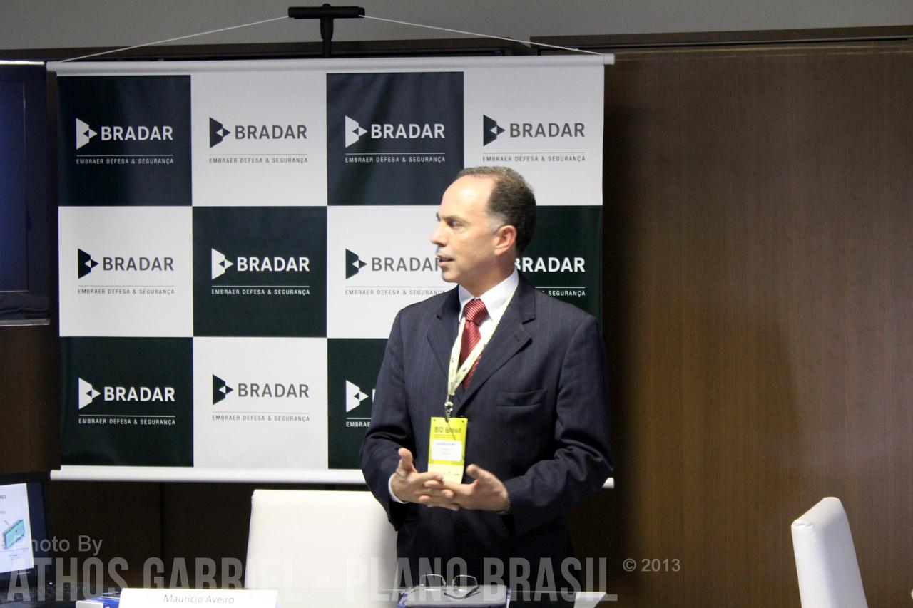 Presidente da BRADAR informando sobre a nova marca.