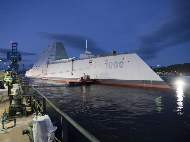 Novo navio da Marinha americana – O USS Zumwalt classe de destróieres DDG-1000