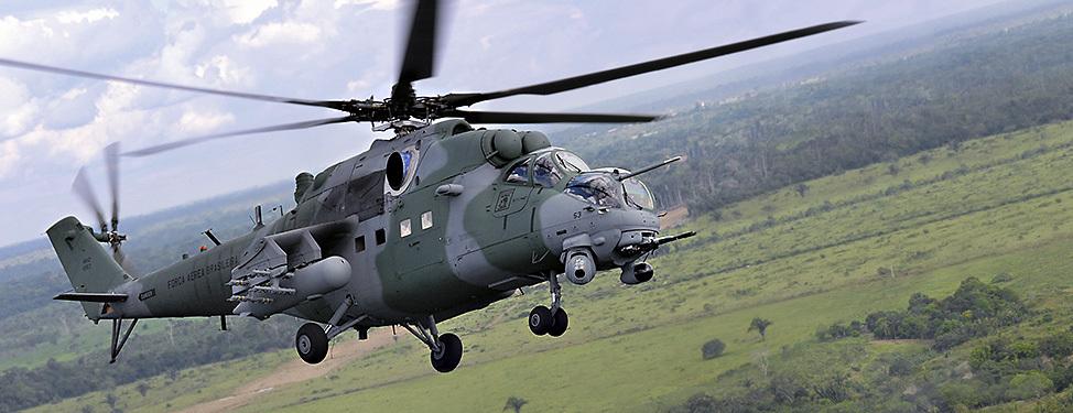 Especialistas russos farão manutenção dos Mi-35M brasileiros