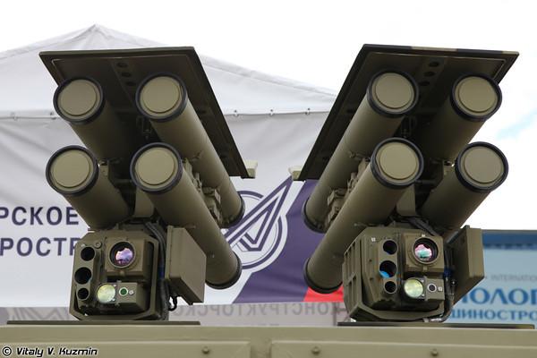 صاروخ Kornet الروسي المضاد للدروع ينتشر في الدول العربيه  Kornet_E