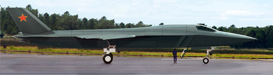 force guess this is called H-18 medium-range supersonic stealth bomber ...