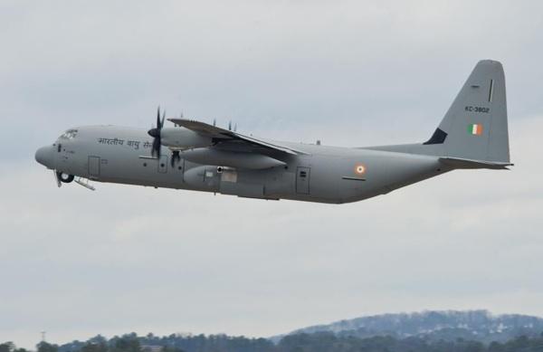 Índia assina contrato para mais 6 super Hércules C 130J