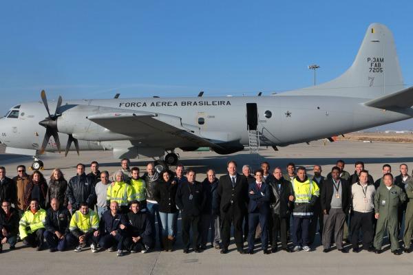 FAB recebe mais uma aeronave de patrulha P-3AM