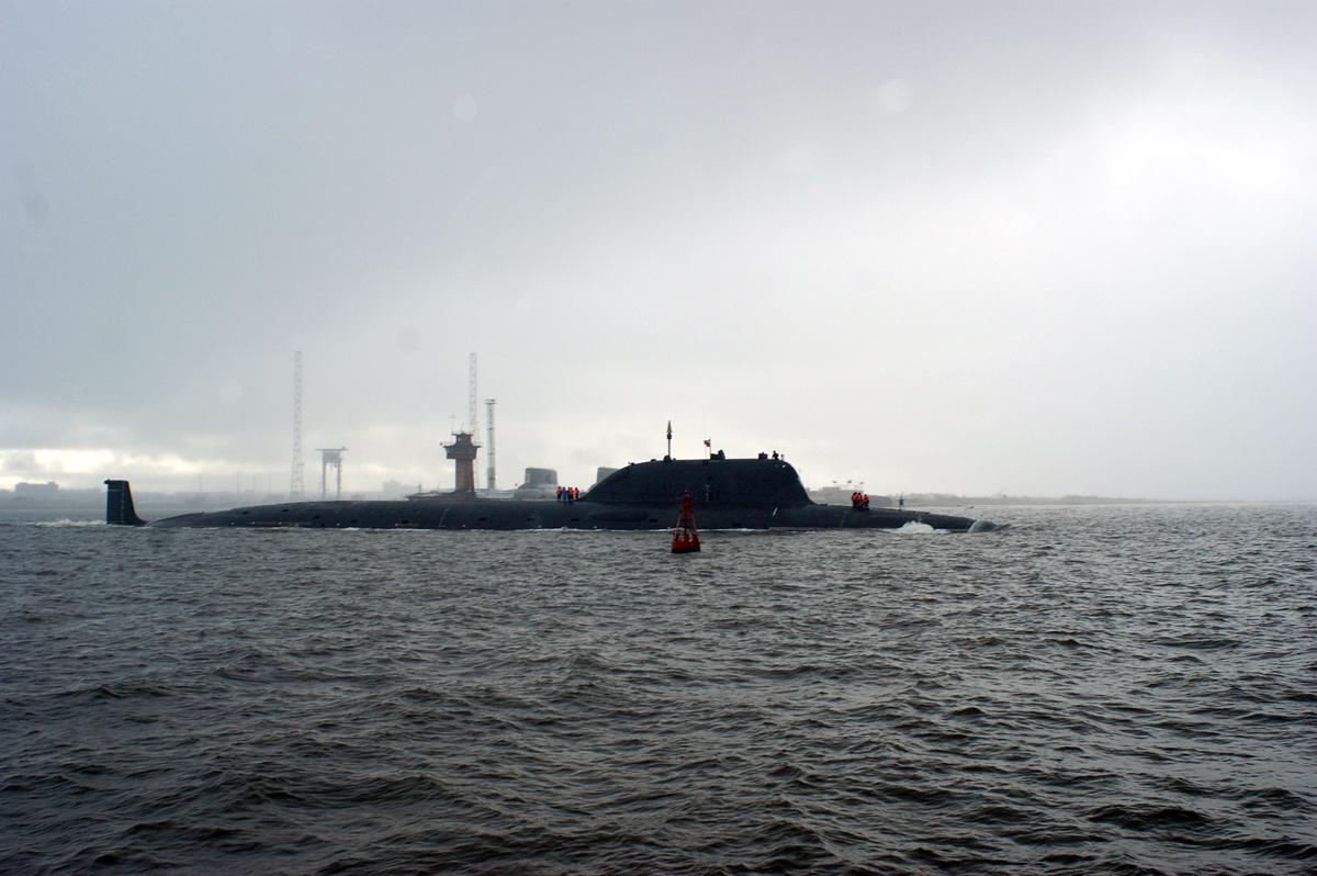 Rússia comissiona novo submarino de ataque da classe Yansen