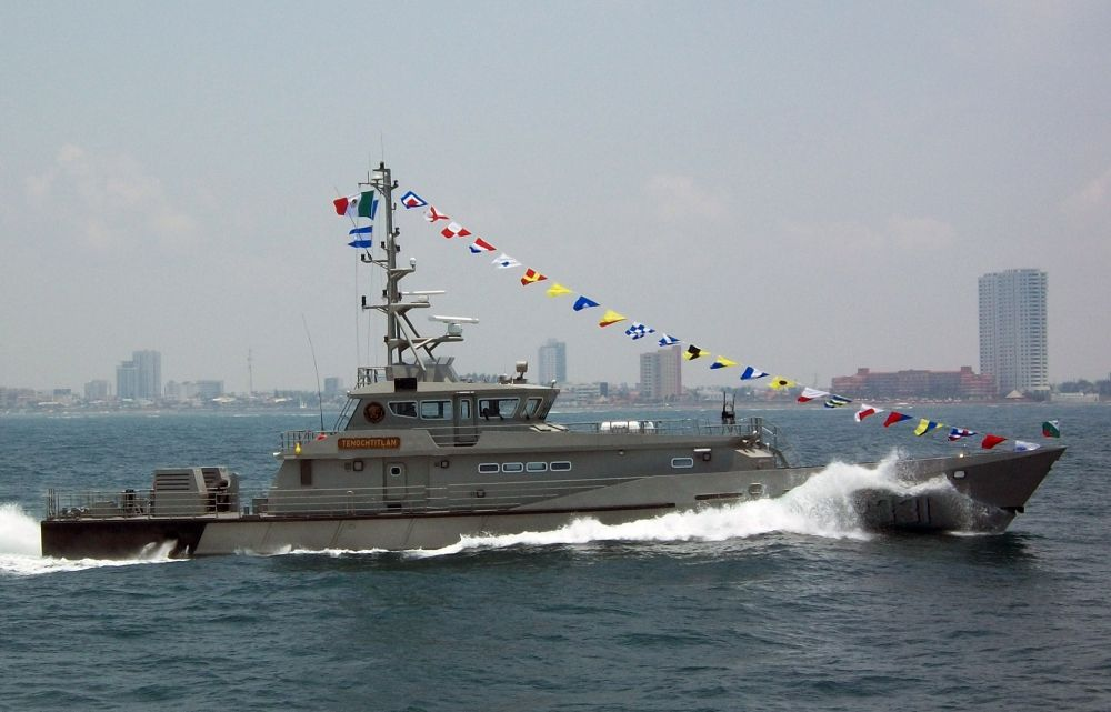México encomenda quinto navio patrulha  type Stan Patrol 4207