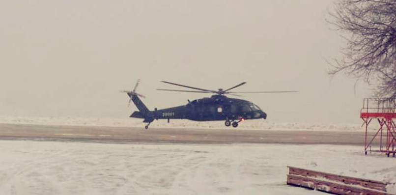 maiden-flight-of-z-20-helicopter