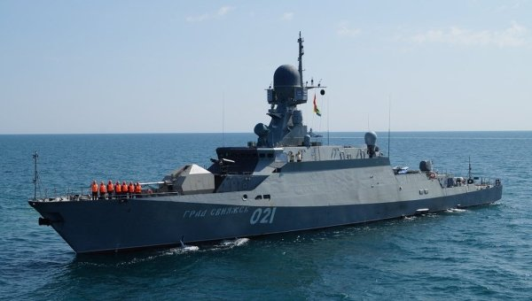 Grad Sviyazhsk e Uglich prontas para entrar em operação no Mar Cáspio