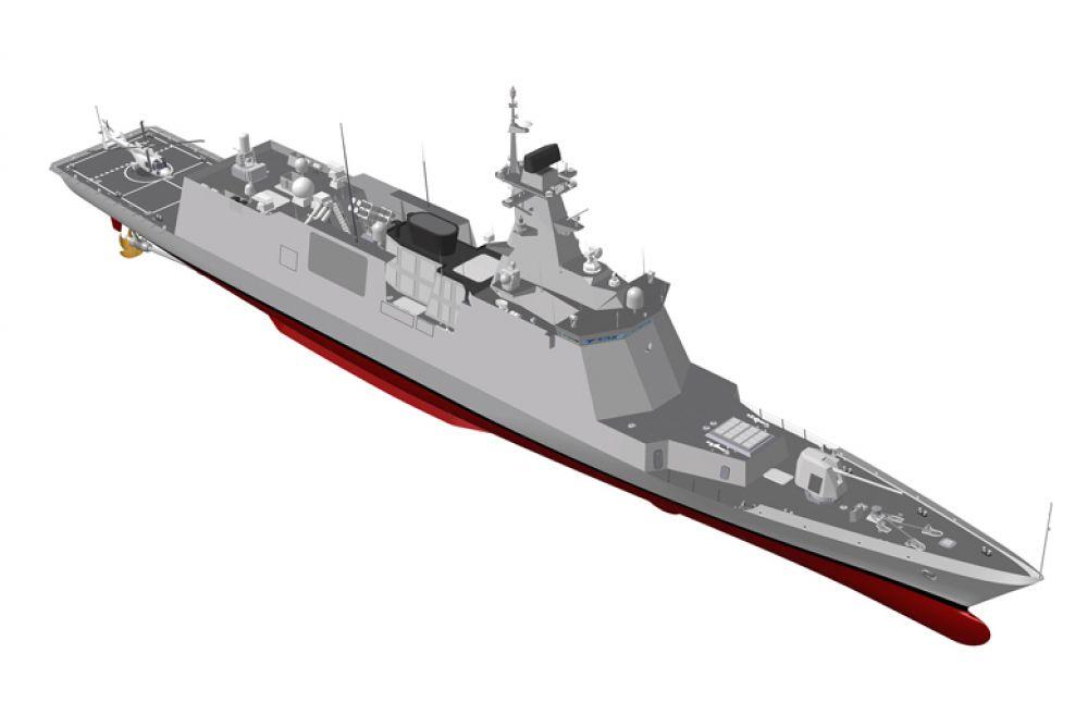 A Marinha da Coreia do Sul ordenou um novo tipo de fragata