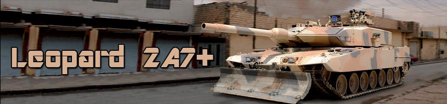 MBT Brasil:  KMW Leopard 2 A7+