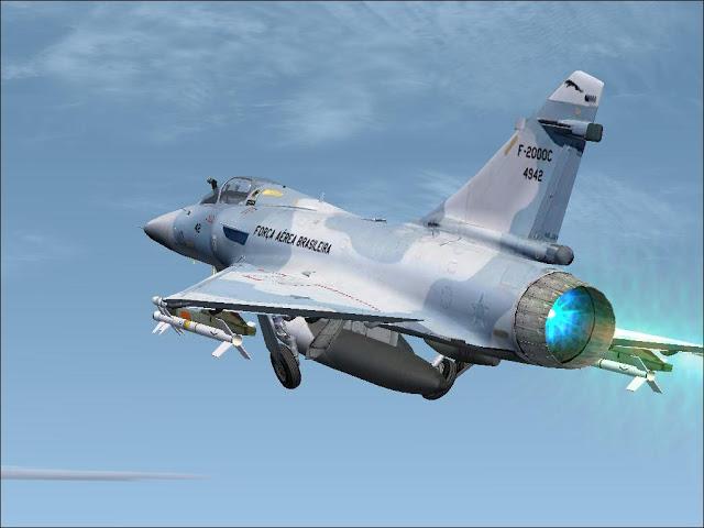 Avião que protege o Brasil é aposentado no último dia de 2013