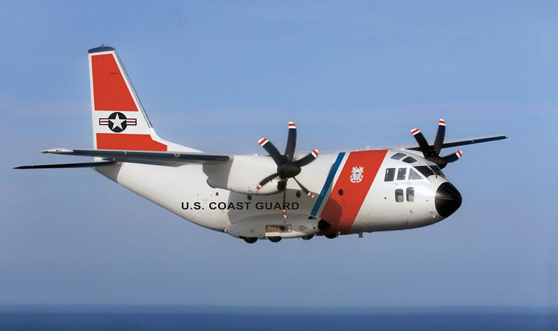 USCG receberá 14 aeronaves C27J para Vigilância e salvamento