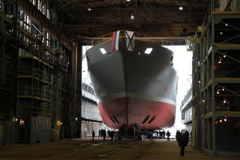 Marinha Russa receberá 40 novos navios em 2014