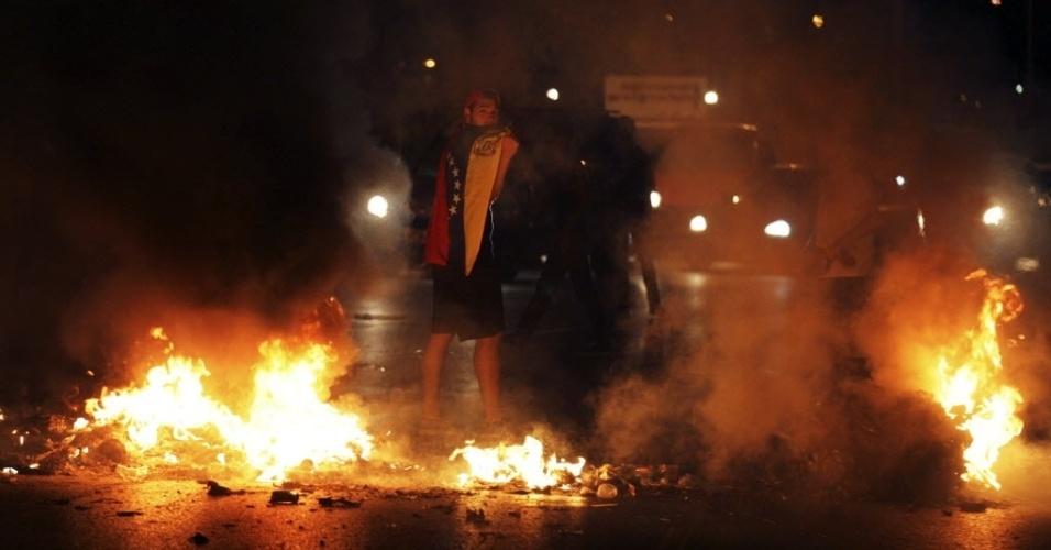 Venezuela tem terceira noite de protestos