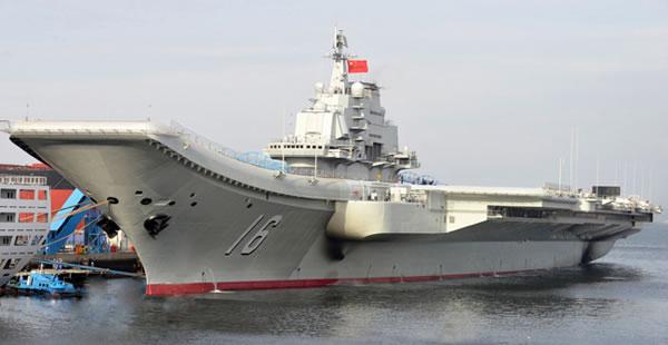 Marinha da China melhor do que Soviética, mas ainda tem pontos fracos