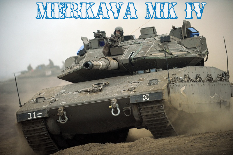 MBT Brasil: Israel Military Industries MERKAVA MK IV