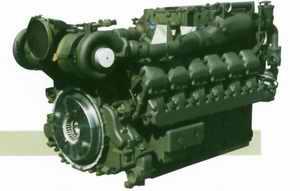 Motor General Dynamics GD883 V-12 Diesel
