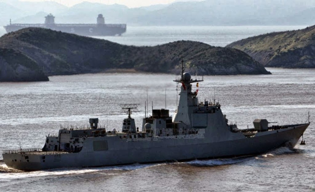 Images of the day Chinese Second Commission Type 052D)-class guided missile destroyers DDG172, DDG173 Changsha undergo sea trial near Zhoushan (4)