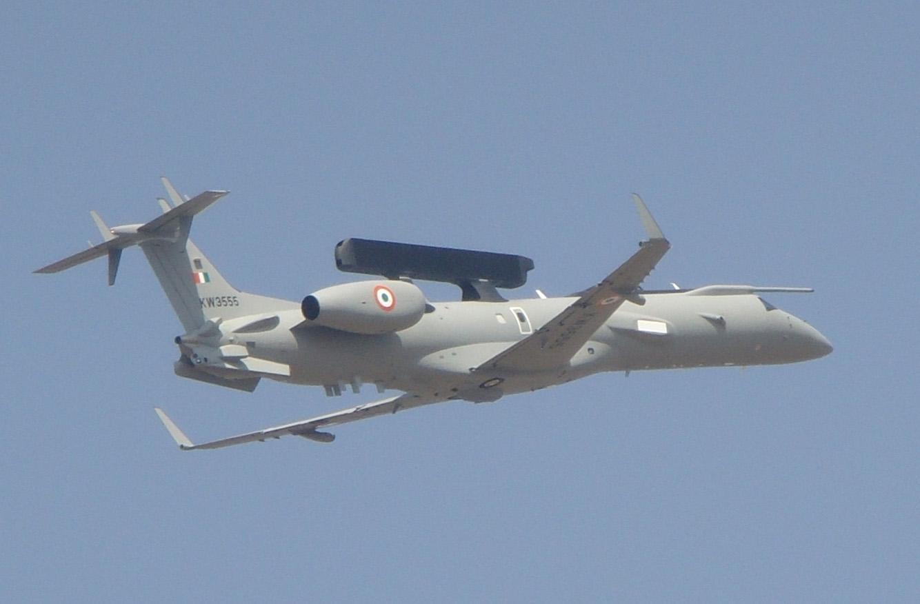 Índia anuncia programa para aquisição de 06 aeronaves AWACS