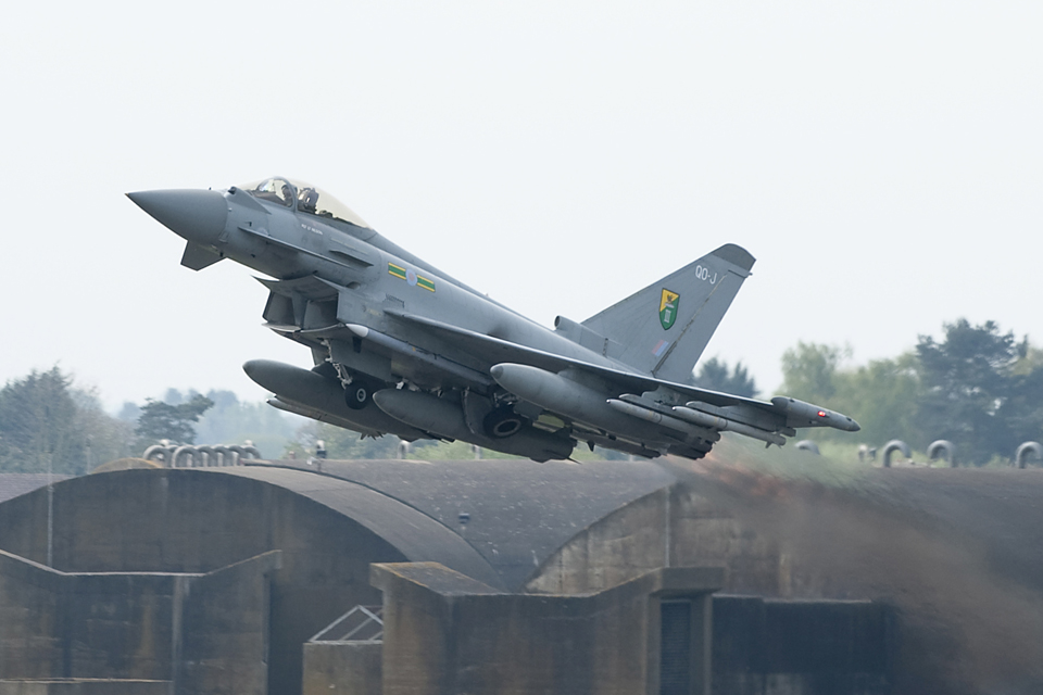 RAF DEPLOYS TYPHOON JETS TO BOLSTER NATO AIR POLICING MISSION