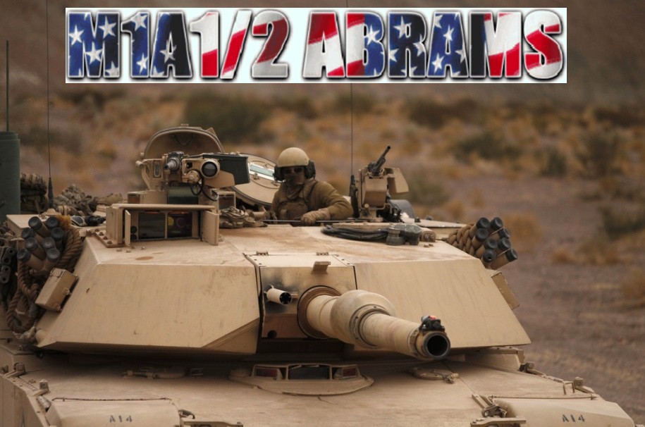 MBT BRASIL: GENERAL DYNAMICS M1A1/2 ABRAMS