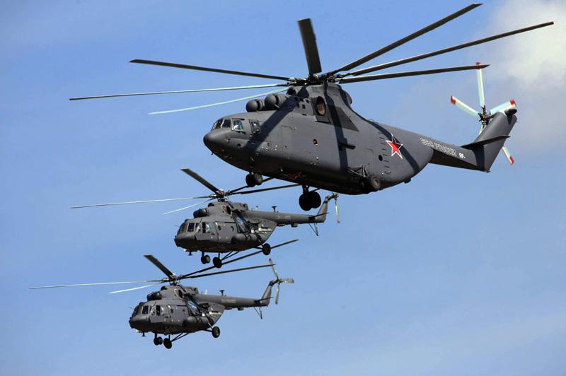 Paquistão interessado em helicópteros Russos