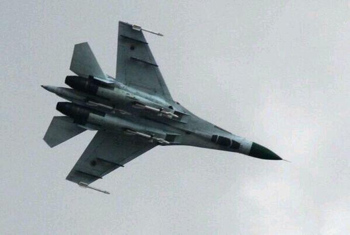 UCRÂNIA: Su-27 supostamente abatido em operação contra forças separatistas
