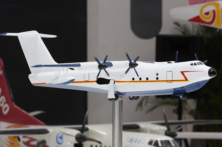 China desenvolve a maior aeronave anfíbia do mundo o JL-600 (Jiaolong-600 / Dragão 600)