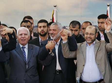 Israel suspende negociações de paz após acordo de palestinos