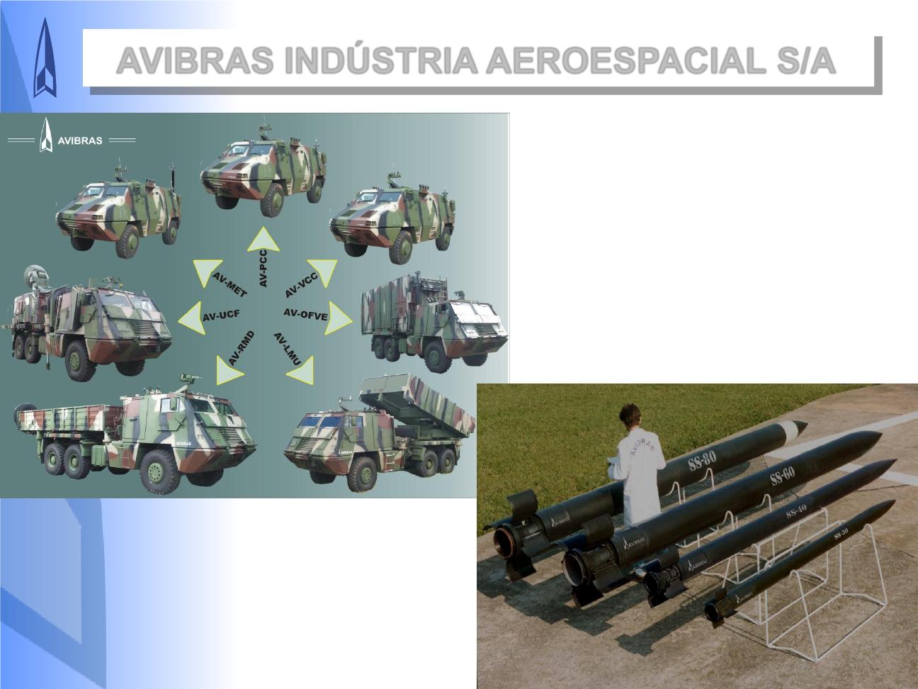 Avibras amplia instalações para produção de blindados