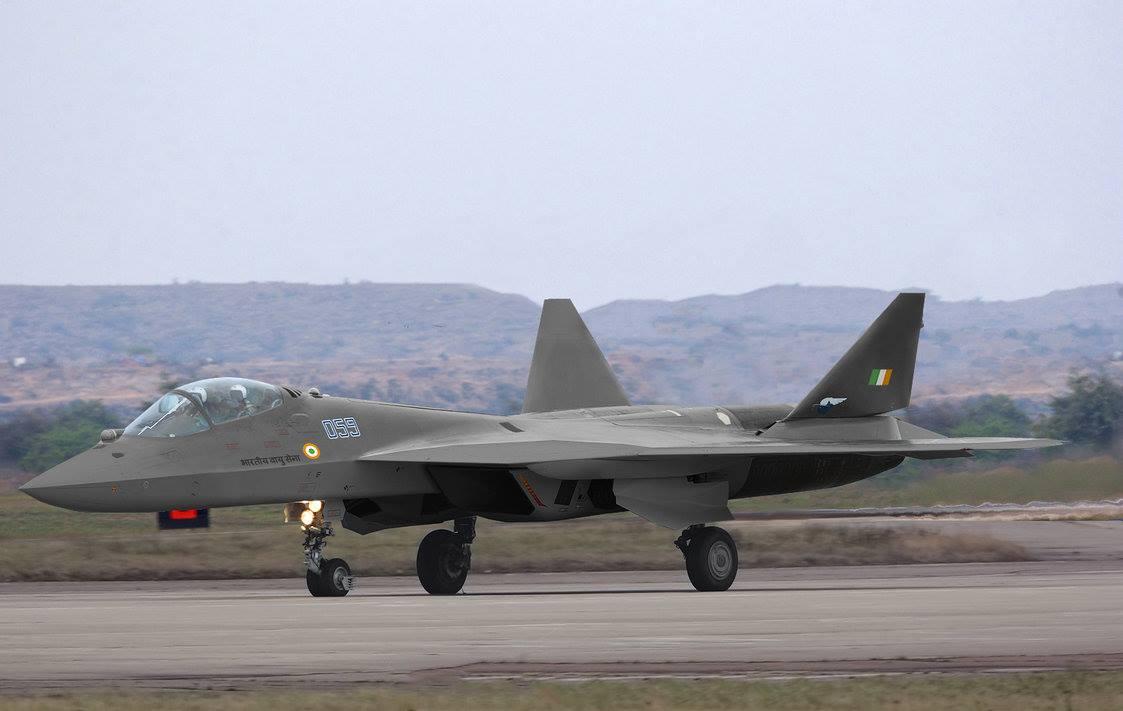 Defesa em arte: PAK FA da Força Aérea indiana