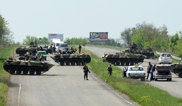 Tropas ucranianas atacam jornalistas do Russia Today em Kramatorsk