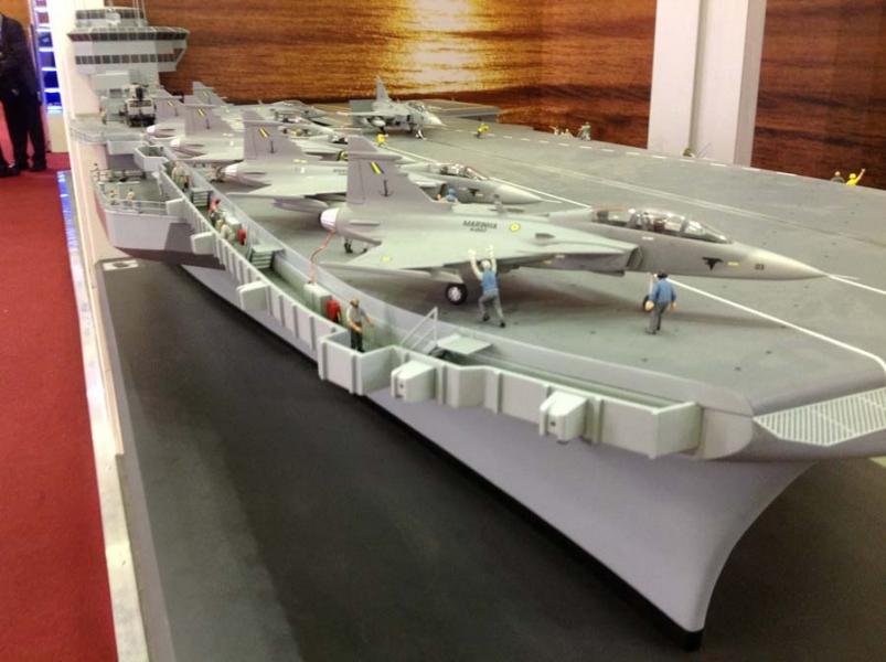 """Sea Gripen: """"Marinha do Brasil (MB) deverá participar da próxima reunião entre FAB e SAAB"""""""