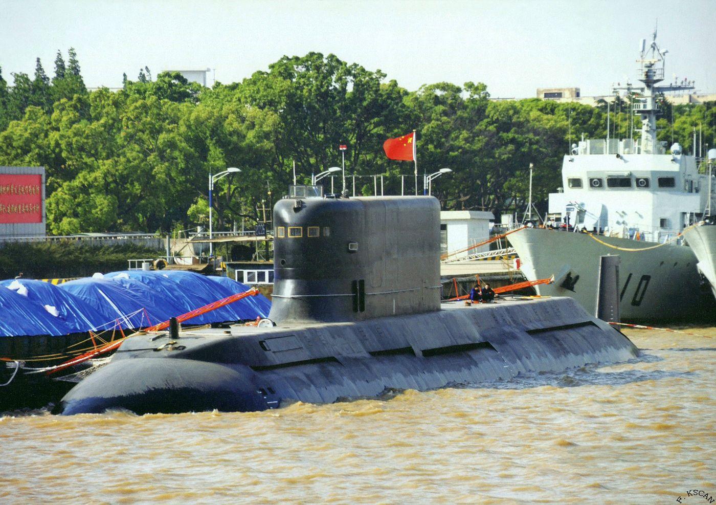 Paquistão pretende adquirir 06 submarinos Type 41AIP Chineses