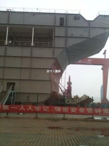 China pretende lançar seu segundo Porta-Aviões antes de 2017