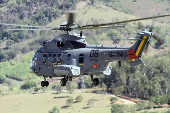 Helibras entrega primeiro EC725 montado no Brasil