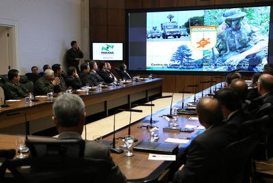 Exército apresenta sistema de monitoramento de fronteira