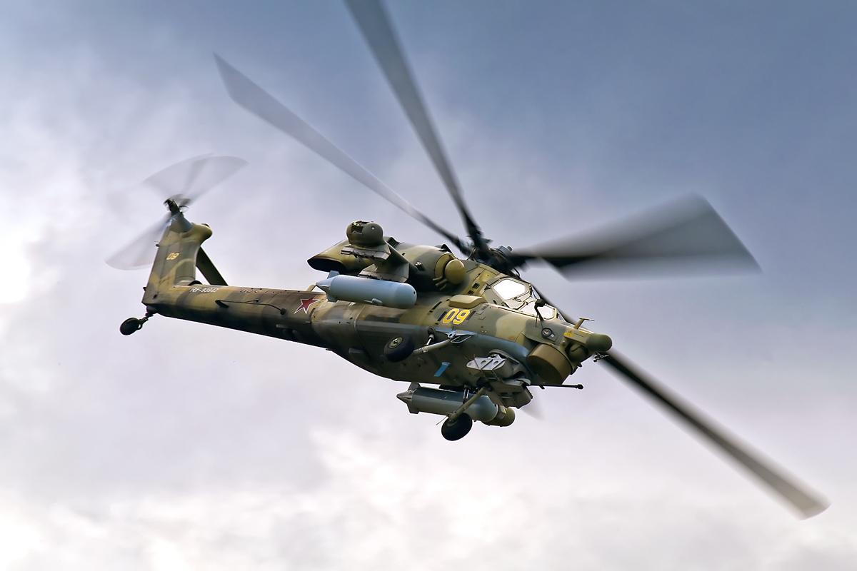 Iraque recebe helicópteros Mi-28NE