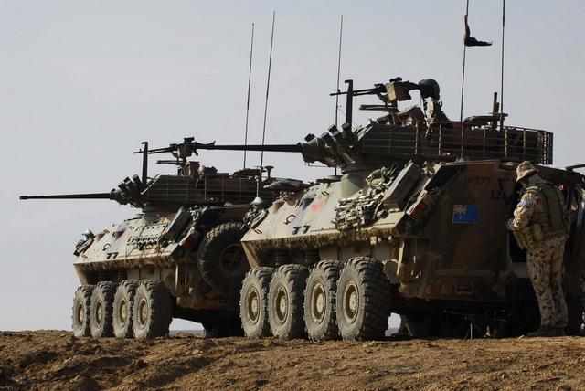 Fuzileiros Navais do Perú adquirem 32 viaturas blindadas sobre rodas LAV II