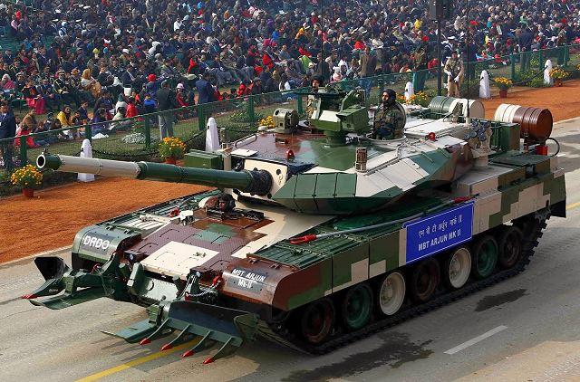 Exército Indiano solicita sistemas de defesas ativas para o carro de combate Arjun MK II