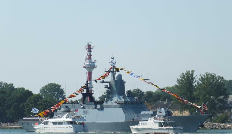 Frota Russa incorpora nova Corveta furtiva