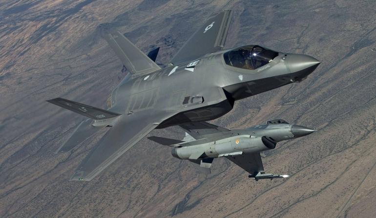 F-35 à preço do F-16?