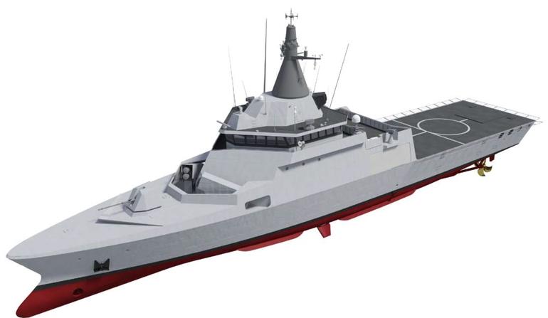 DCNS apresentou no  BALT-MILITAR-EXPO a sua nova corveta de patrulha de alta velocidade Gowind 1000
