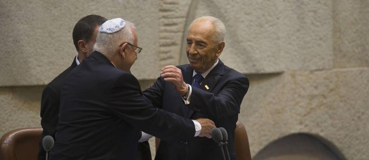 """Novo Presidente de Israel: """"Mudança de rumo à vista?"""""""