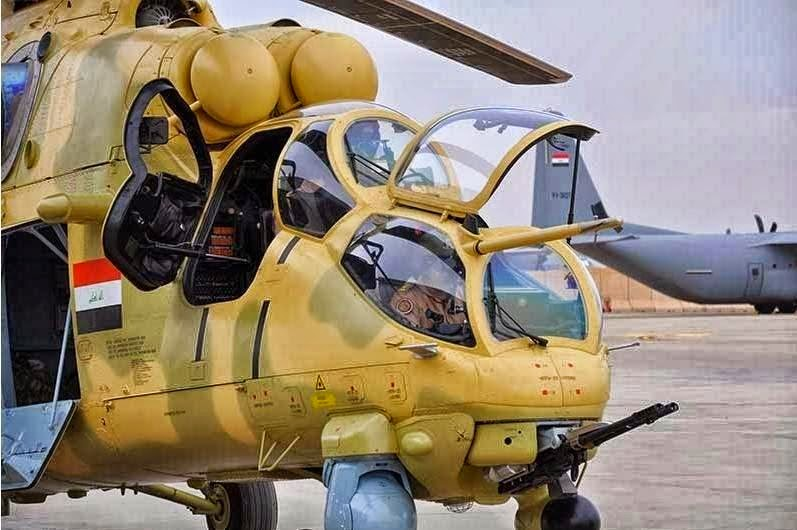 Iraq Receives Mi-28NE Helicopter Gunships from Russia 1