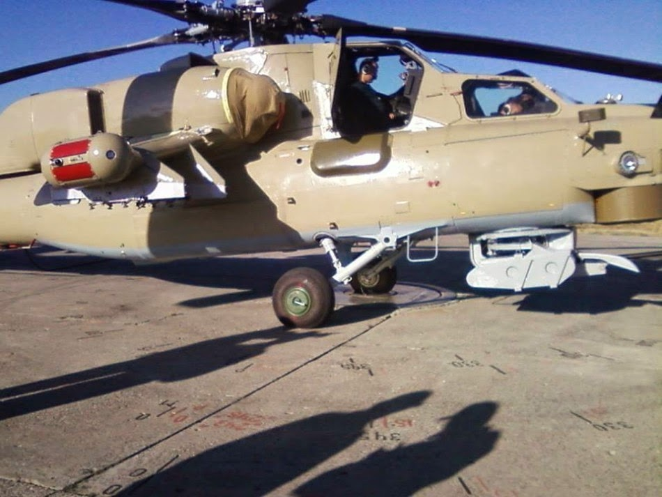 Iraq Receives Mi-28NE Helicopter Gunships from Russia 2