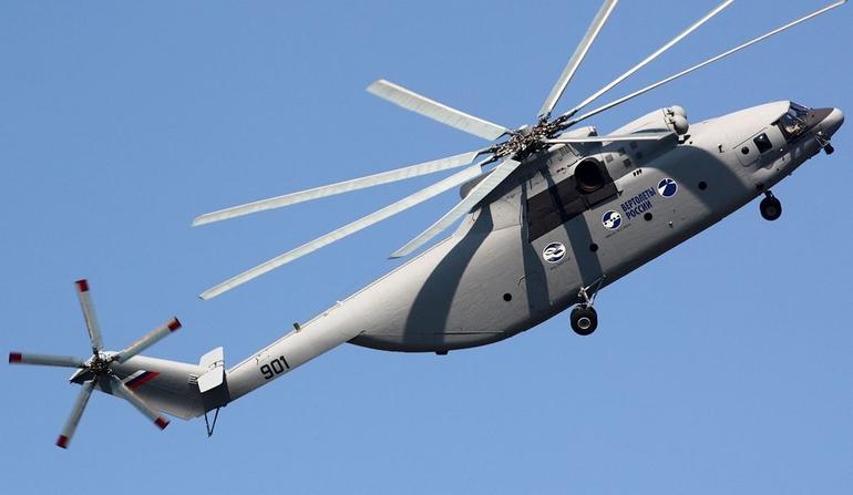 Produção do Mi-26T2 começará em 2015
