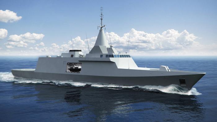 DCNSs: Egito adquire quatro corvetas Gowind
