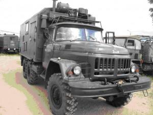 Caminhão militar ZIL-131. Foto: internet.