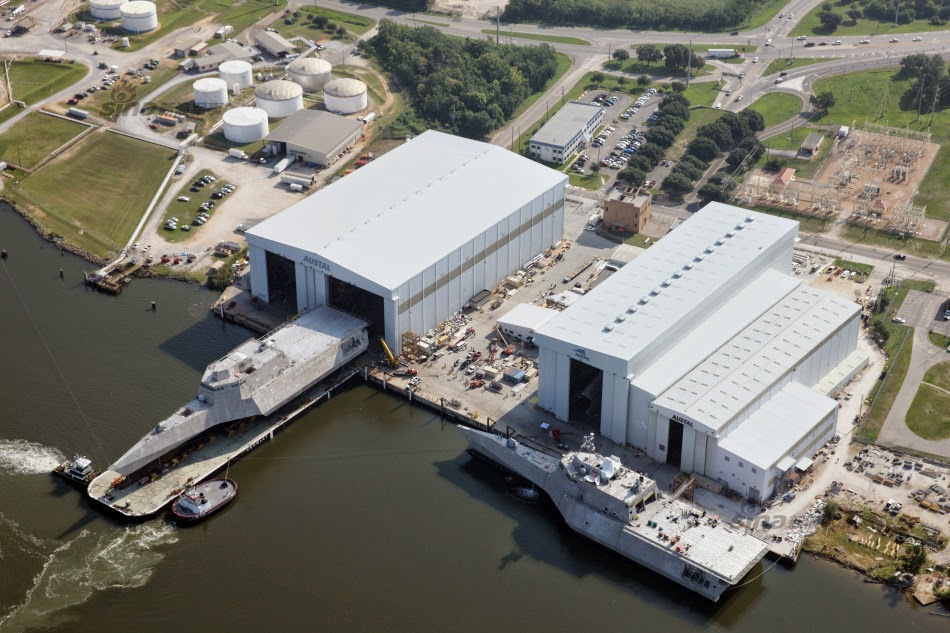 Austal finaliza as obras do USS Montgomery