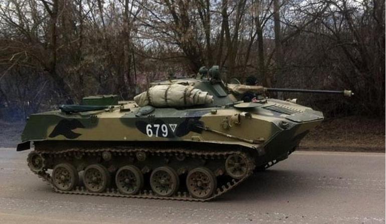 Exército Ucraniano captura veículos de combate da 76ª divisão aerotransportada Russa nas proximidades de Lugansk